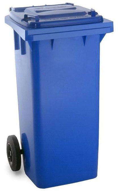 140 litre wheelie bin blue